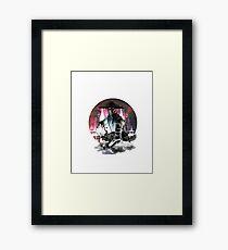 RAIDEN TESLA Framed Print