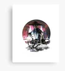 RAIDEN TESLA Canvas Print