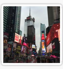 Times Square 2015 (colored) Sticker