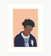 JOEY BADASS Art Print