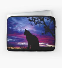 Dusky Cat Laptop Sleeve