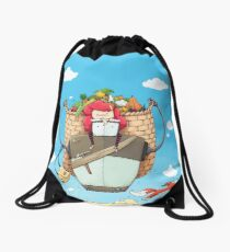 Robo Farmer! Drawstring Bag