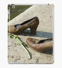 Eastern Europe, Hungary, Budapest, Shoes on the Danube Promenade by Gyula Pauer and Can Togay is a Hungarian Jewish WWII Memorial iPad Case/Skin