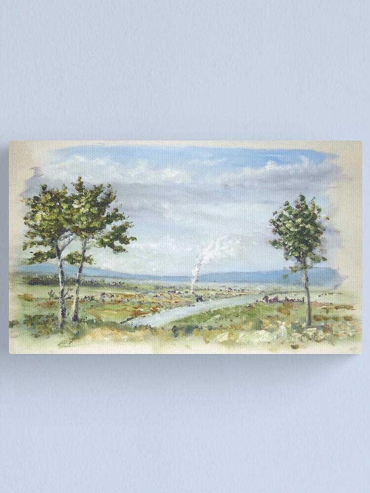 Alternate view of Happy Land Canvas Print