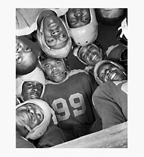 Vintage Football Photo - Gordon Parks, 1943 Photographic Print