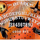 Ouija Art Collection, Halloween Theme (Light Grey Text) by Amanda Gatton