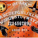 Ouija Art Collection, Halloween Theme (Light Grey Text) by Grimdol Fair