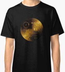 Voyager disk NASA carl Sagan Classic T-Shirt