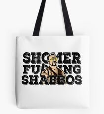 Shomer Shabbos- the big lebowski Tote Bag