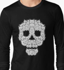 Skull is for Pussies Long Sleeve T-Shirt
