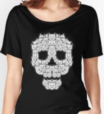 Skull is for Pussies Women's Relaxed Fit T-Shirt
