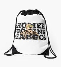 Shomer Shabbos- the big lebowski Drawstring Bag