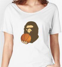 BASKETBALL BAPE APE Women's Relaxed Fit T-Shirt