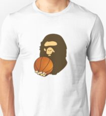 BASKETBALL BAPE APE Slim Fit T-Shirt