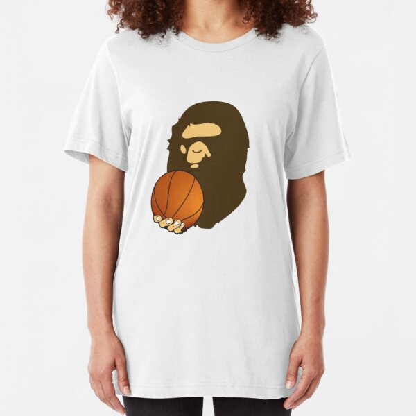 BASKETBALL BAPE APE Slim Fit T-Shirt