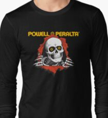 Powell Peralta Yellow Eyes Long Sleeve T-Shirt