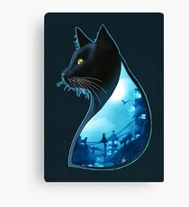 Guardians of the Night Canvas Print