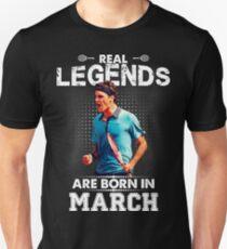 Roger Federer March Legend Tshirt ! T-Shirt