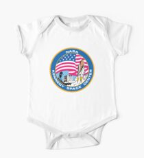 SPACE, NASA, Kennedy Space Center, Logo, Patch One Piece - Short Sleeve