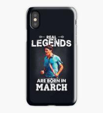 Roger Federer March Legend Tshirt! iPhone Case