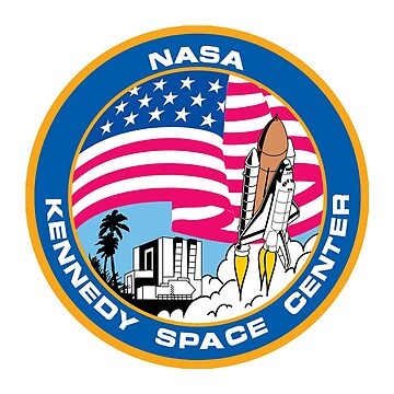 SPACE, NASA, Kennedy Space Center, Logo, Patch by TOMSREDBUBBLE