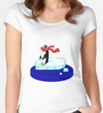Pingu Women's Fitted Scoop T-Shirt
