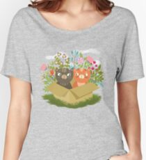 A Carton Of Cute Kitties Women's Relaxed Fit T-Shirt