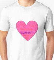 I love you waitress T-Shirt