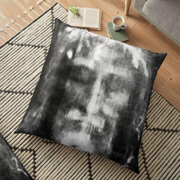 Shroud of Turin. Turin Shroud. Christianity, Christian, Icon, Bible, Biblical, Resurrection. Floor Pillow