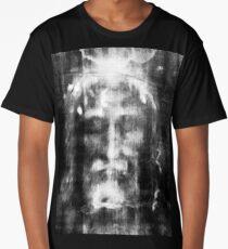 Shroud of Turin, Turin Shroud, Christianity, Christian, Icon, Bible, Biblical, Resurrection, Long T-Shirt