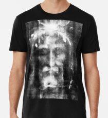 Shroud of Turin, Turin Shroud, Christianity, Christian, Icon, Bible, Biblical, Resurrection, Men's Premium T-Shirt