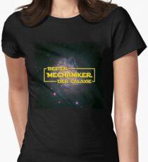 Space > Bester Mechaniker der Galaxie > Nerd Women's Fitted T-Shirt