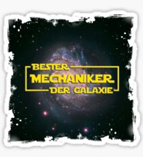 Space > Bester Mechaniker der Galaxie > Nerd Sticker