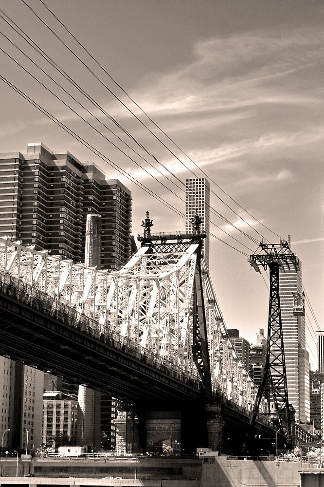 59th Street Bridge No. 4-1 by SandyTaylorNYC
