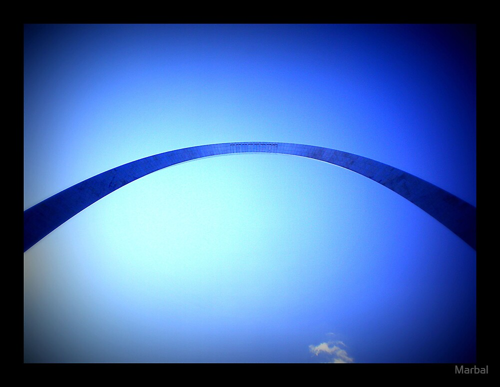 The Arch in Saint Louis by Marbal