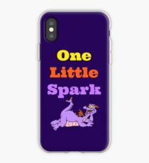 Figment One Little Spark Laying Down iPhone Case