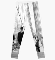 Legging Fotografía de Brooklyn Bridge Vintage, 1905