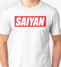 SAIYAN RED LOGO funny humor parody oryginal  Unisex T-Shirt