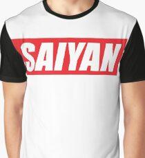 SAIYAN RED LOGO funny humor parody oryginal  Graphic T-Shirt