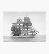 Vintage Ship Photograph Photographic Print
