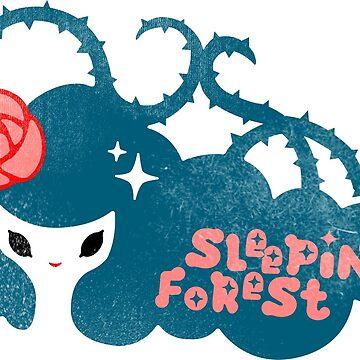 Sleeping Forest by lazerwolfx
