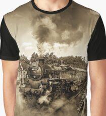 Nostalgic Journey Graphic T-Shirt
