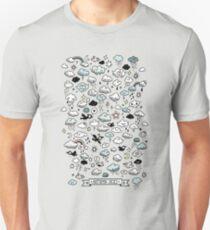 Autumn Skies Pattern T-Shirt