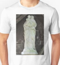 Spooky Madonna and Child Statue T-Shirt