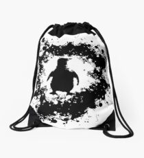 Splatr Penguin Drawstring Bag