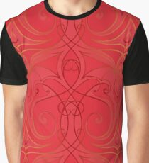 abstract chinese new year background vector design Graphic T-Shirt