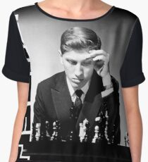 Bobby Fisher Chess T-Shirt products Grandmaster Chiffon Top