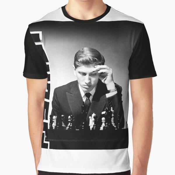 Bobby Fisher Chess T-Shirt products Grandmaster Graphic T-Shirt