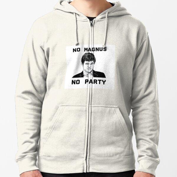 Magnus Carlsen Chess T-Shirt Zipped Hoodie