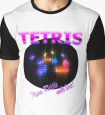 Tetris in Neon Graphic T-Shirt